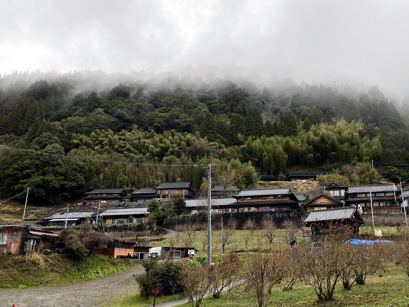椎葉村十根川重要伝統的建造物群保存地区